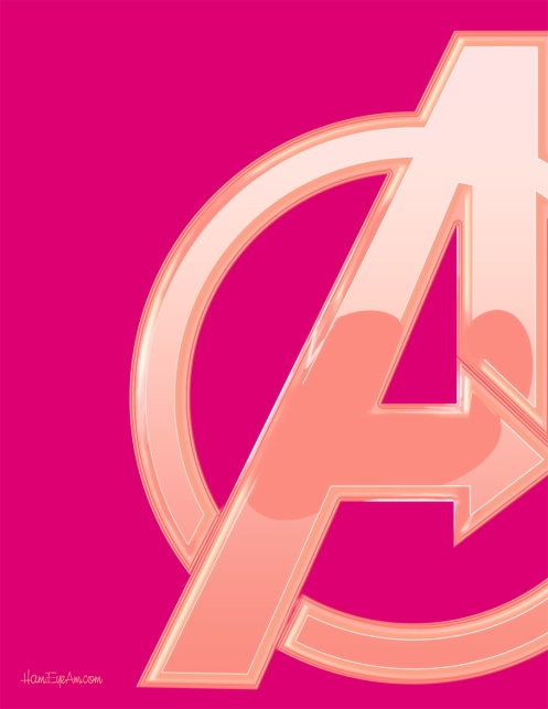 Pink&Coral Avengers
