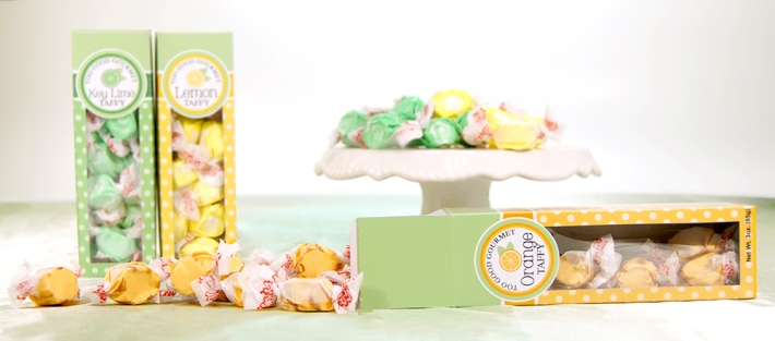 Citrus Taffy