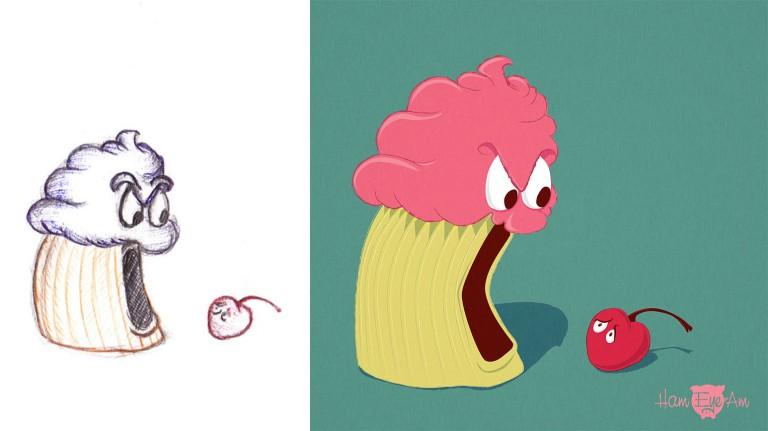 CupcakeSketchtoFinal