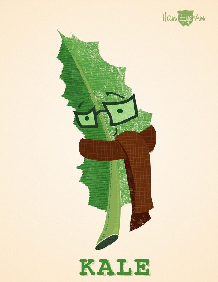 kale illustrated by Heather Martinez