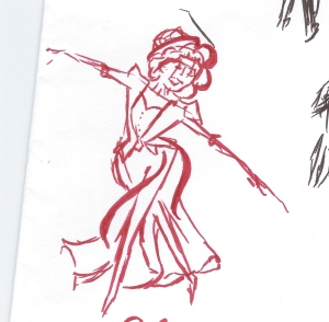 Show Boat Sketch