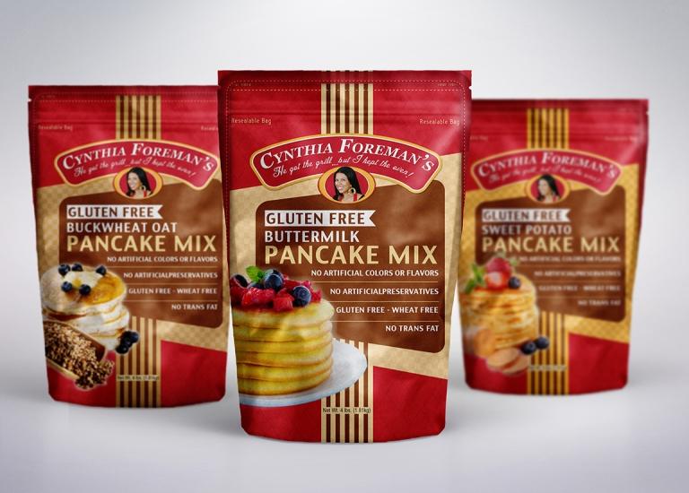 Cynthia Foreman's Pankcake Mixes