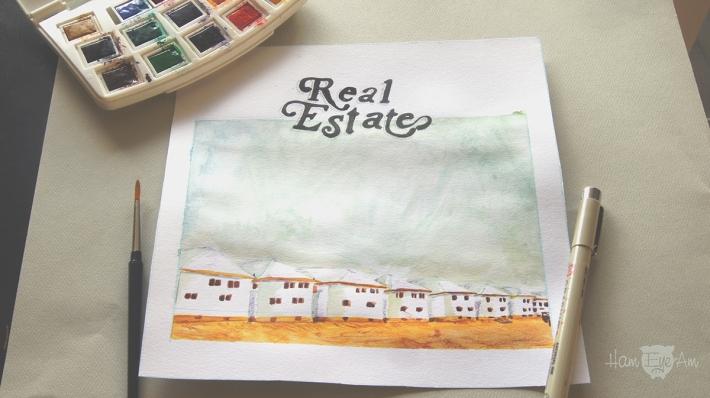 Real Estate Watercolor