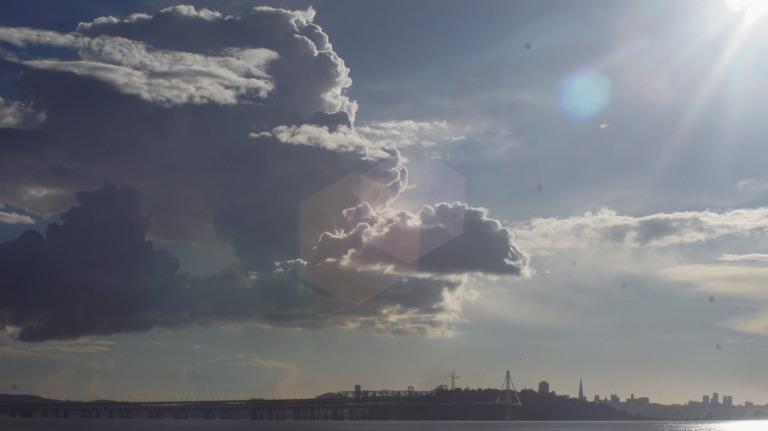 Clouds at the Marina