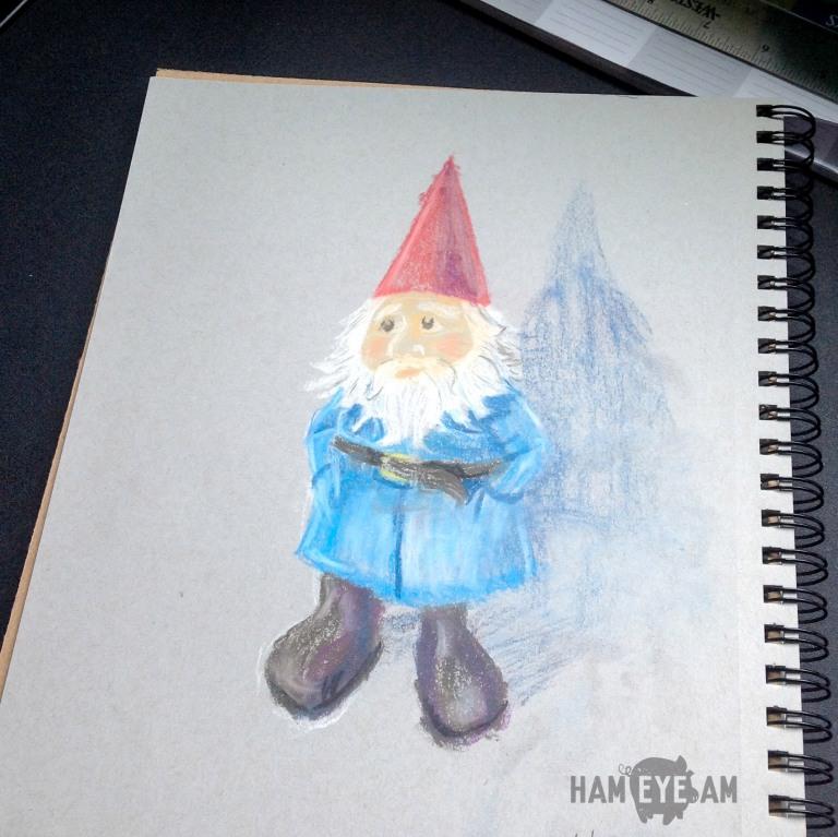 Travelocity Gnome Pastel