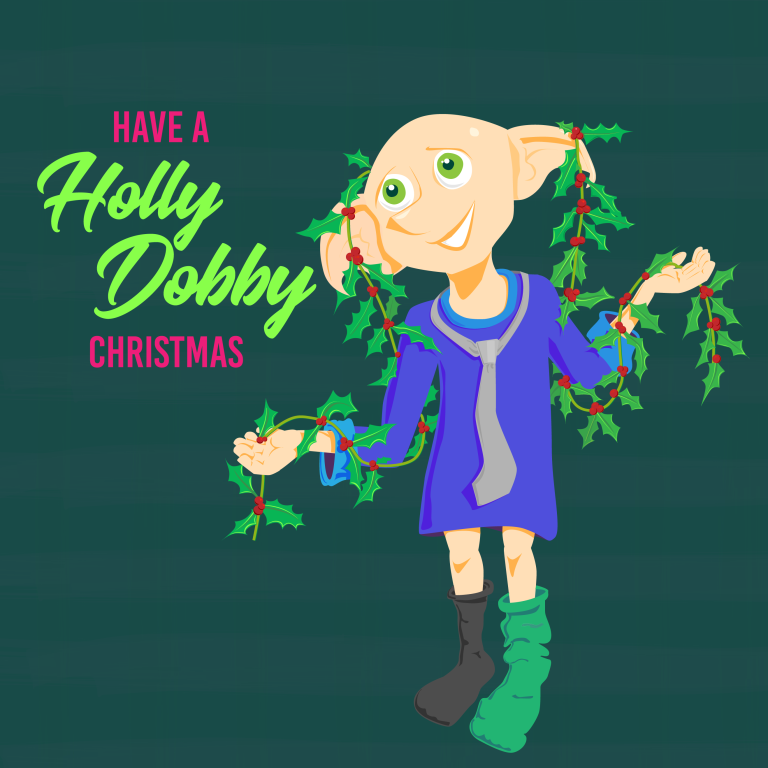 Have A Holly Dobby Christmas 2018